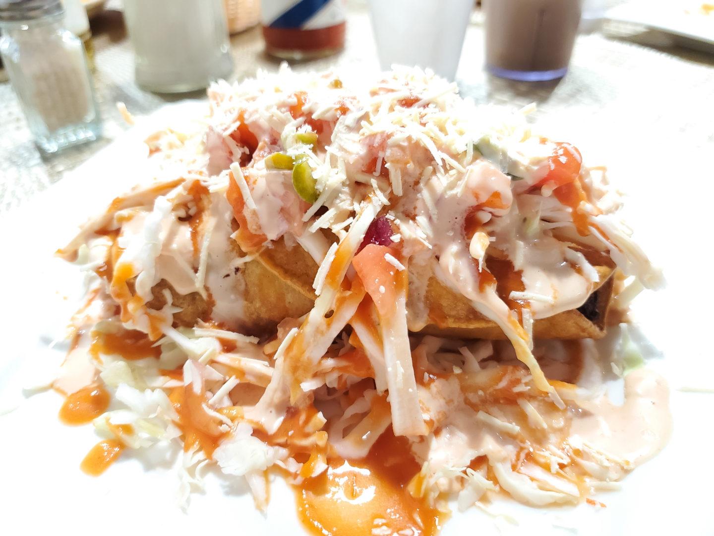 Traditional Honduran Tacos