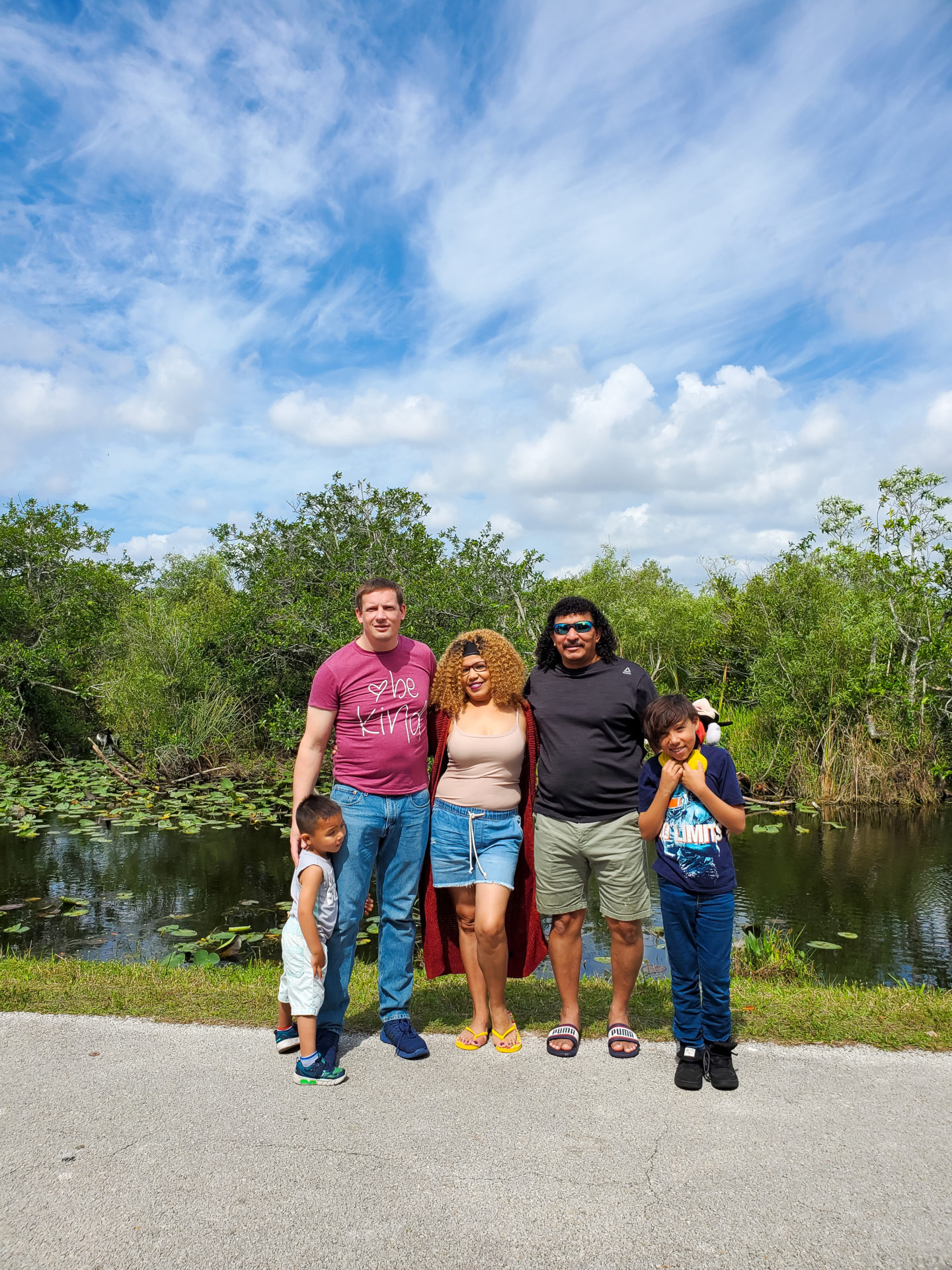My Family at the Everglades.